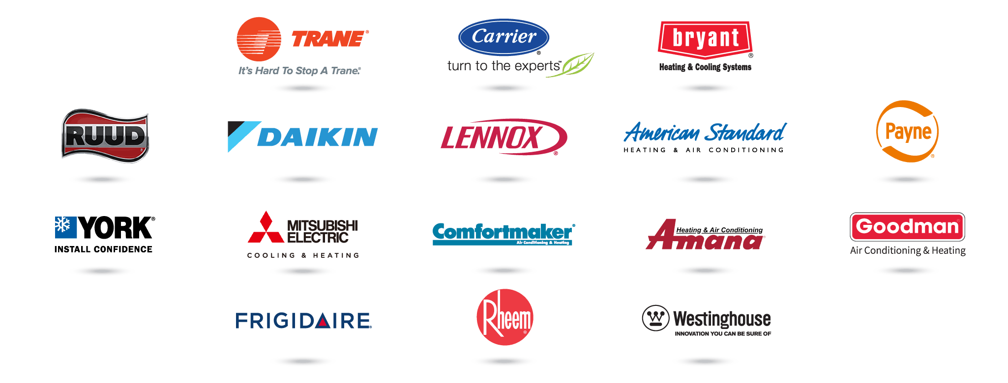 We service all brands.