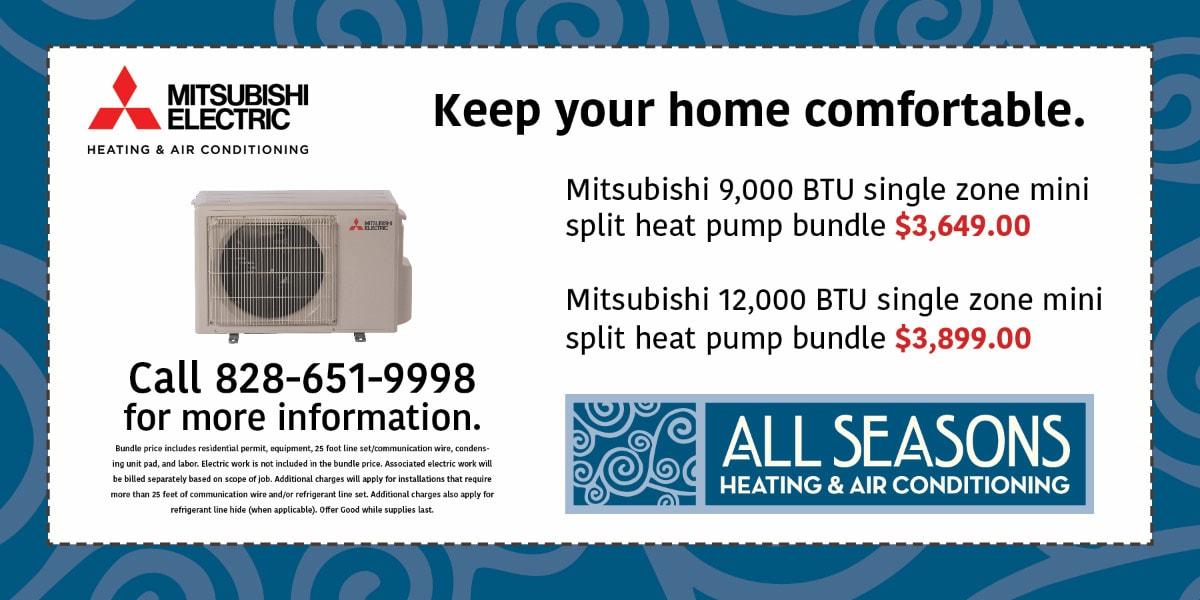 Mitsubishi Mini-Split Special