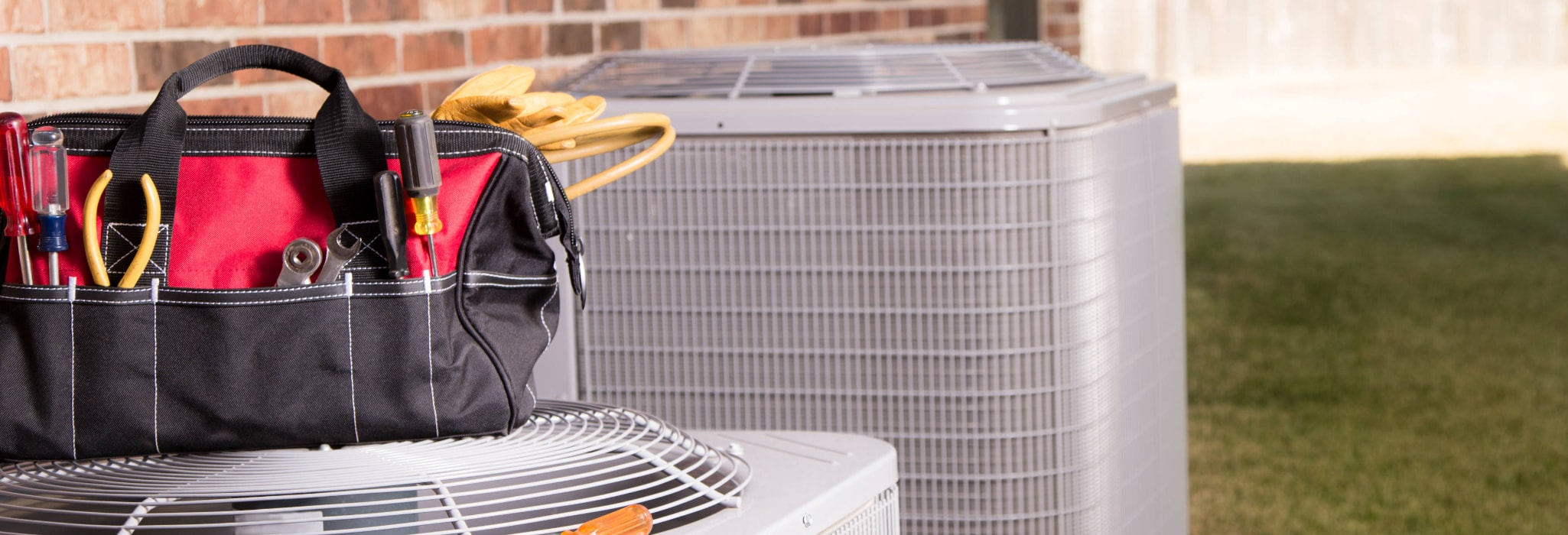 HVAC maintenance service.